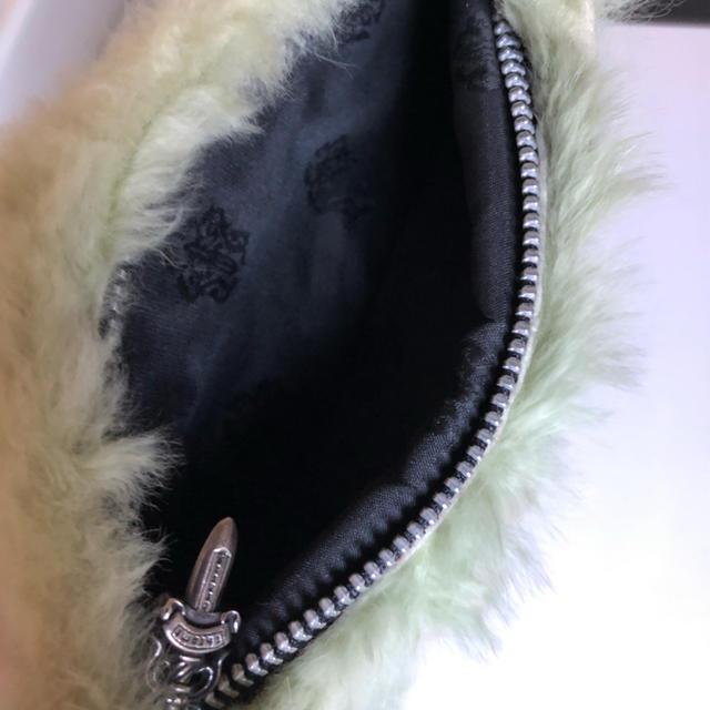 Chrome Hearts(クロムハーツ)のクロムハーツファーポーチ レディースのファッション小物(ポーチ)の商品写真