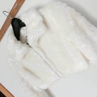 リズリサ(LIZ LISA)の超美品☆LIZ LISA リズリサ フェイクファージャケット 秋冬 アウター(毛皮/ファーコート)