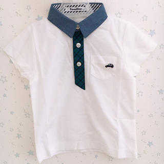 familiar - 新品 ファミリア ポロシャツ 100