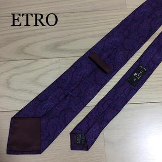 エトロ(ETRO)のETRO エトロ シルクネクタイ(ネクタイ)