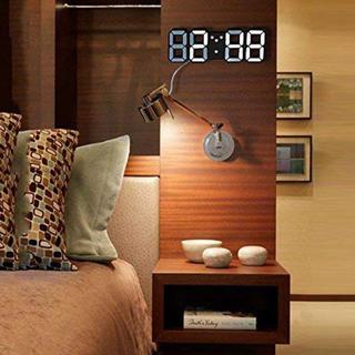 フランフラン(Francfranc)のLEDライト 時計(置時計)
