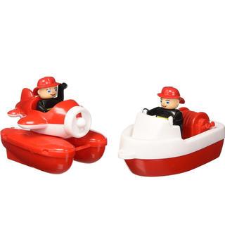 ボーネルンド(BorneLund)のアクアプレイ ウォータープレイ ファイアーボートセット(知育玩具)