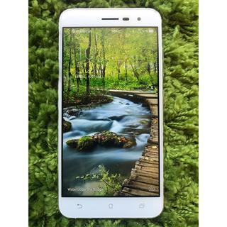 ASUS - 【超美品】ASUS Zenfone 3 ZE520KL ホワイト SIMフリー