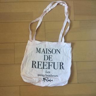 メゾンドリーファー(Maison de Reefur)の最終価格!美品 メゾンドリーファー エコバッグ うすピンク(エコバッグ)