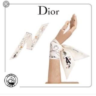ディオール(Dior)のディオール ミッツァ オフホワイト ABCDior-A(バンダナ/スカーフ)