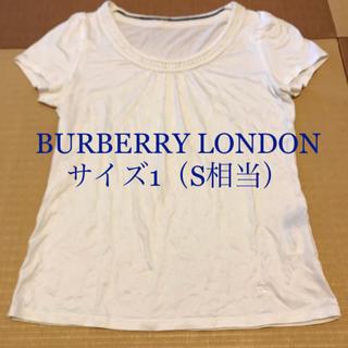 バーバリー(BURBERRY)のBURBERRY LONDON  トップス  サイズ1(S相当)  (カットソー(半袖/袖なし))