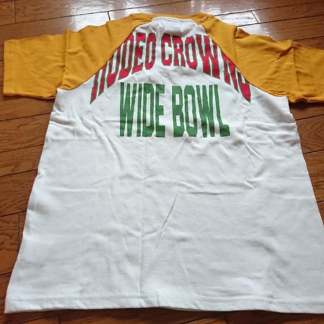 RODEO CROWNS WIDE BOWL(ロデオクラウンズワイドボウル)のロデオクラウン Tシャツ メンズ Mサイズ  メンズのトップス(Tシャツ/カットソー(半袖/袖なし))の商品写真