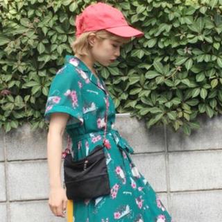ジュエティ(jouetie)の新品未使用タグ付き♡ジュエティー♡リボン付きキャップ帽♡赤♡レッド♡RED♡(キャップ)