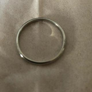 カルティエ(Cartier)のカルティエ  プラチナリング(リング(指輪))