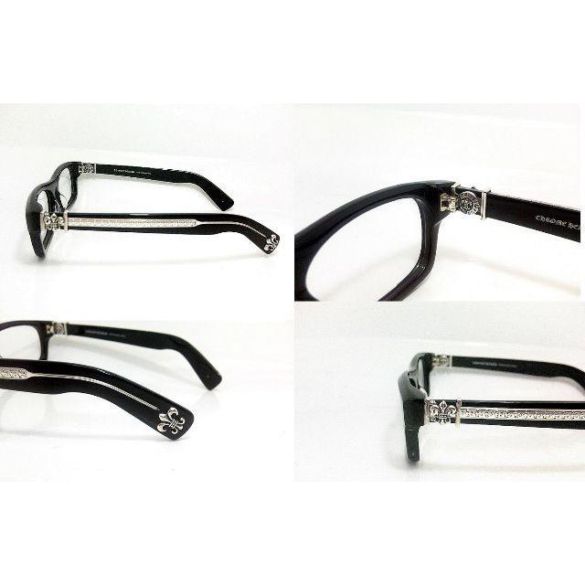 Chrome Hearts(クロムハーツ)のCHROME HEARTS クロムハーツT-NUC ★メガネフレーム黒 メンズのファッション小物(サングラス/メガネ)の商品写真