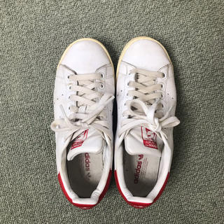 adidas - adidas スタンスミス 赤