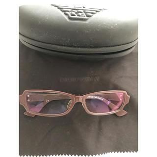 エンポリオアルマーニ(Emporio Armani)のエンポリオアルマーニ メガネ 伊達眼鏡(サングラス/メガネ)