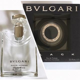 ブルガリ(BVLGARI)のBVLGARI ブルガリ ブラック&プールオム オードトワレ 空瓶(香水(男性用))