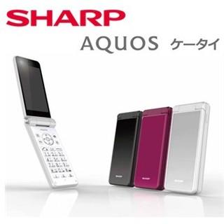 SHARP - AQUOSケータイSH-N01ブラック simフリー 新品未開封