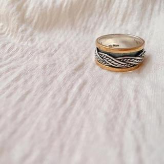 イセタン(伊勢丹)の新品 Bijumam ビジュマム ローリングリング(リング(指輪))