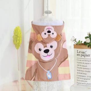 Disney - 新商品💖ダッフィー フード付きバスタオル