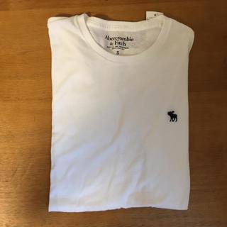 Abercrombie&Fitch - アバクロ 半袖 ホワイトTシャツ