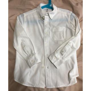 ユニクロ(UNIQLO)の長袖ポロシャツ 110サイズ(Tシャツ/カットソー)