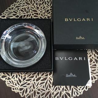 ブルガリ(BVLGARI)の【未使用品】ブルガリ ローゼンタール クリスタル灰皿 アッシュトレイ(灰皿)
