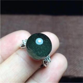 天然グリーンガーデンクォーツ リング(リング(指輪))