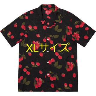 Supreme - SUPREME Cherry Rayon rayon Shirt
