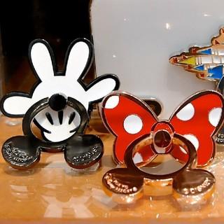 Disney - ディズニー スマホリング 2個セット