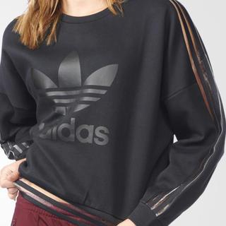 adidas - adidas originals シースルースウェット