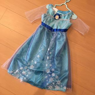 Disney - エルサ ドレス ワンピース 衣装 仮装 100 110