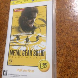PlayStation Portable - 「メタルギアソリッド ピースウォーカー PSP the Best」
