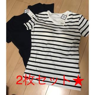 UNIQLO - ユニクロ ブラトップ ティーシャツ L