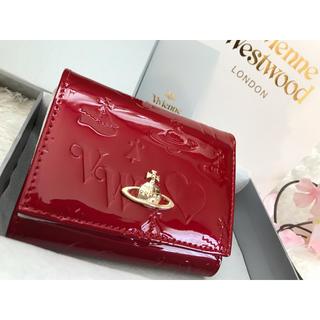 ♡春財布♡ ヴィヴィアンウエストウッド 折り財布 新品 がま口 箱付き