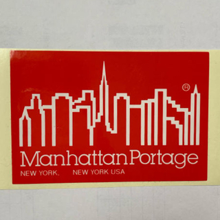 Manhattan Portage - ManhattanPortage ステッカー