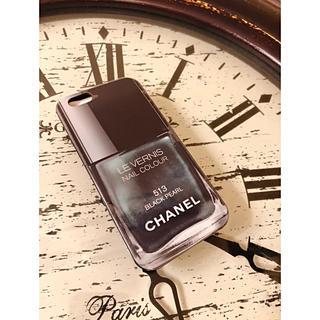 シャネル(CHANEL)のCHANEL ロゴ ネイルポリッシュ iPhone6.S対応 ソフトカバー 新品(iPhoneケース)