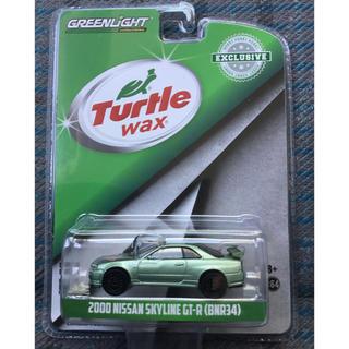 ニッサン(日産)のグリーンライト 1/64 日産 スカイライン GT-R R34 メタリック(ミニカー)