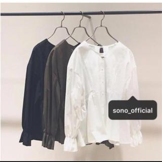 ノーブル(Noble)のSONO  ビンテージブロードレースブラウス  完売(シャツ/ブラウス(長袖/七分))