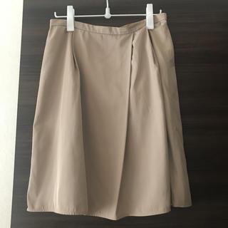INDIVI - インディヴィ 大きめサイズ フレアスカート