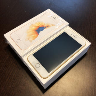 iPhone - 未使用新品☆ iPhone6s 32GB gold ゴールド SIMフリー