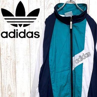 adidas - 【トレンド】アディダスオリジナルス ナイロンジャケット 90's レトロスポーツ