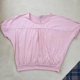 シマムラ(しまむら)のしまむら リボン付き シャツ トップス(Tシャツ(半袖/袖なし))
