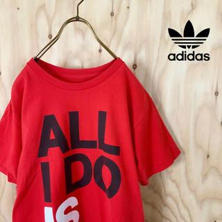 adidas - 海外規格 adidas originals ビッグトレフォイル tシャツ RD