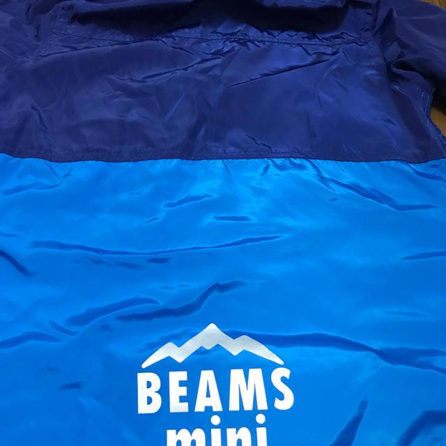 BEAMS(ビームス)の美品ビームスミニ ウィンドブレーカー,薄手ジャンパー 140 キッズ/ベビー/マタニティのキッズ服 男の子用(90cm~)(ジャケット/上着)の商品写真