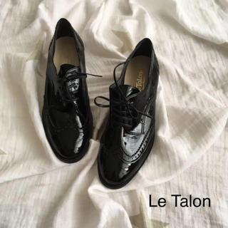 Le Talon - 新品 訳あり ルタロン レースアップ エナメル 37 24.0