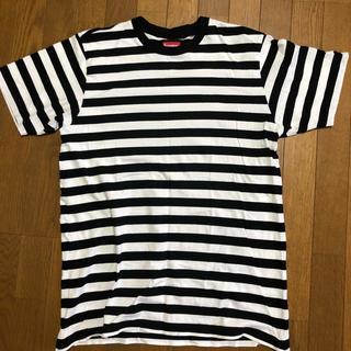 シュプリーム(Supreme)のsupreme bar stripe tee(Tシャツ/カットソー(半袖/袖なし))