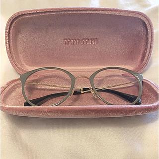 miumiu - miumiu メガネ
