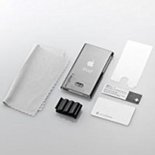 アップル(Apple)のiPod nano 7th用ハードカバー TR-CCNN12-SB ブラック(ポータブルプレーヤー)
