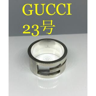 グッチ(Gucci)の[希少サイズ美品]GUCCI 指輪 リング 23号(リング(指輪))
