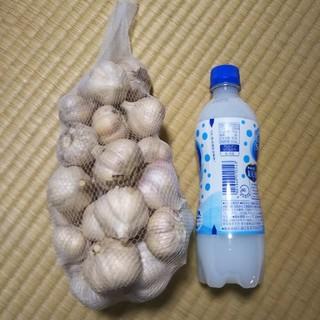 ニンニク 無農薬有機 鹿児島産 1キロ(野菜)