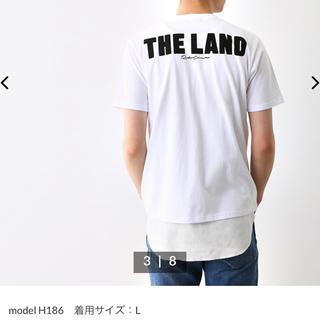 ロデオクラウンズワイドボウル(RODEO CROWNS WIDE BOWL)のロデオクラウンズ Tシャツ メンズ用 ホワイトM(Tシャツ/カットソー(半袖/袖なし))