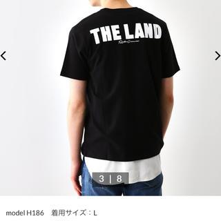 ロデオクラウンズワイドボウル(RODEO CROWNS WIDE BOWL)のロデオクラウンズ Tシャツ メンズ用 ブラックL(Tシャツ/カットソー(半袖/袖なし))