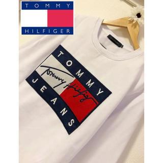 TOMMY HILFIGER - 【新品未使用!大人気!】Tommy HILFIGER デカロゴ  トレーナー